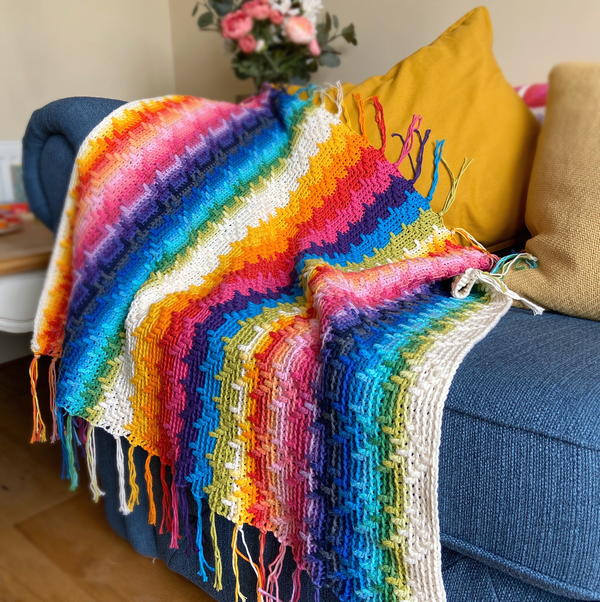 Rainbow Splash Blanket