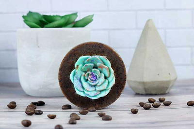 Succulent Coffee Soap Recipe