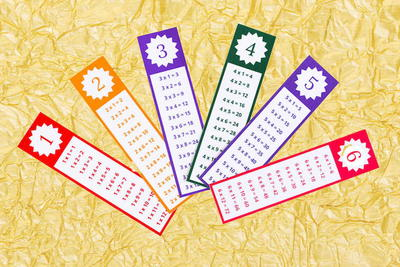 Printable Times Tables Bookmark