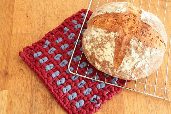 Linen Stitch Potholder