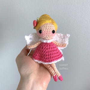 Summer Flower Fairy Amigurumi