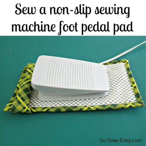 Non-slip Sewing Machine Foot Pedal Pad