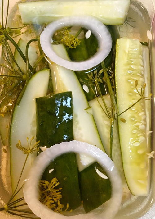 Refrigerator Or Canned Dill Pickles