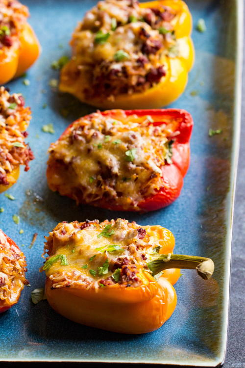 Traeger Stuffed Peppers