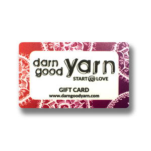 Darn Good Yarn Gift Card Giveaway