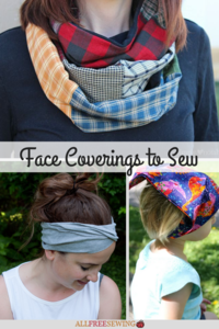 16 Face Coverings to Sew