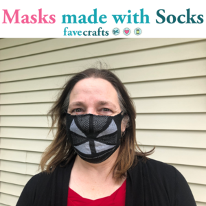 How to Make a Face Mask with a Sock