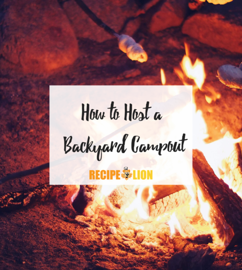 How to Host a Backyard Campout