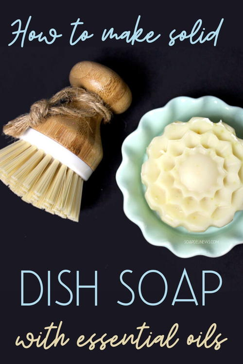 Solid Dishwashing Soap Recipe