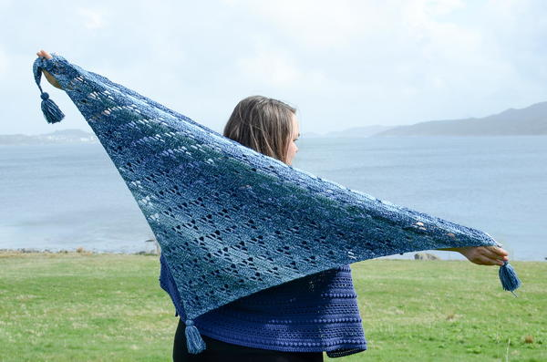 Stacking Triangles Shawl