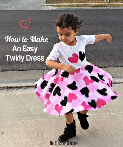 Super Simple Twirly Dress
