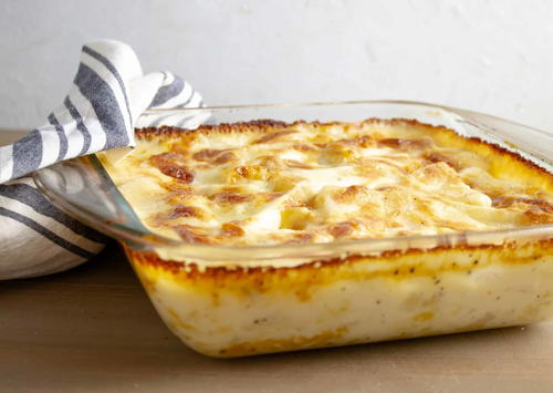 Yummy And Easy Cheese Potato Bake