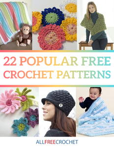 22 Popular Free Crochet Patterns eBook