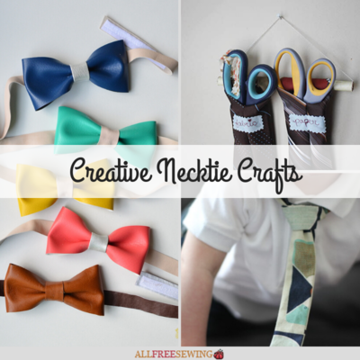 Creative Necktie Crafts