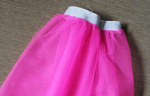 Quick DIY Tulle Skirt