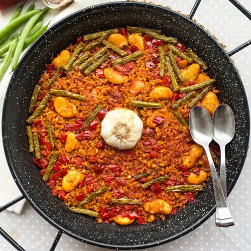Baked Spanish Rice With Vegetables