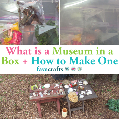 What is a Museum in a Box  How to Make One