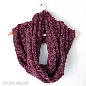 The Hartfield Oversized Infinity Scarf Crochet Pattern