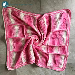Crochet Anchor Baby Blanket Pattern