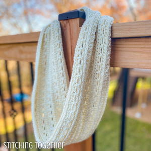 The Uppercross Crochet Infinity Cowl