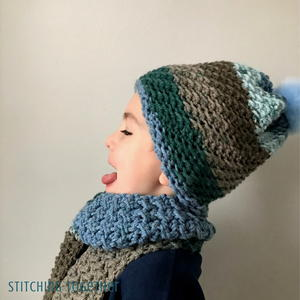 Over The Ridge Crochet Boy Hat Pattern