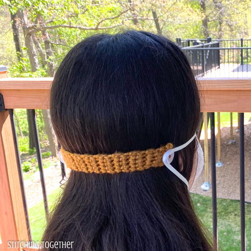 Easiest Crochet Ear Savers For Masks