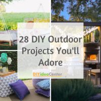 28 DIY Outdoor Projects You'll Adore