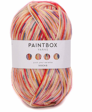 Lollipop Paintbox Yarn Socks Giveaway