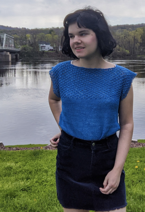 Daisy Stitch Knit Top Pattern