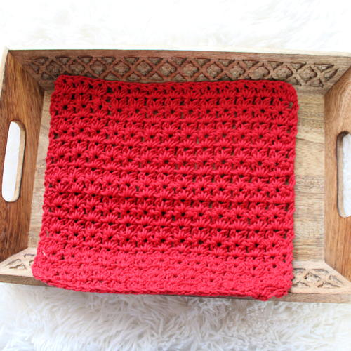 Ixora Washcloth