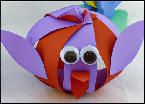 Paper Birdie Kids Craft