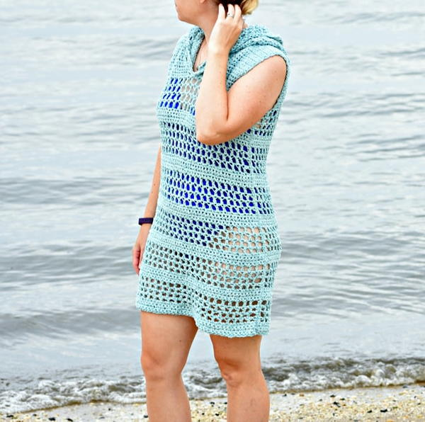 Sandy Shore Crochet Cover Up