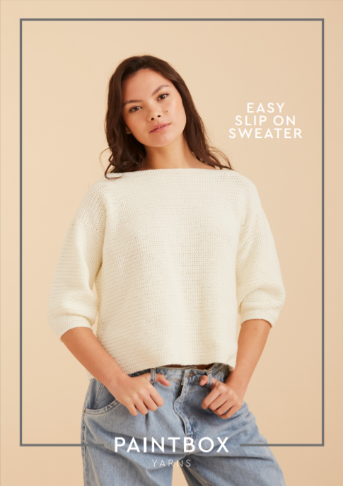Easy Slip-On Sweater