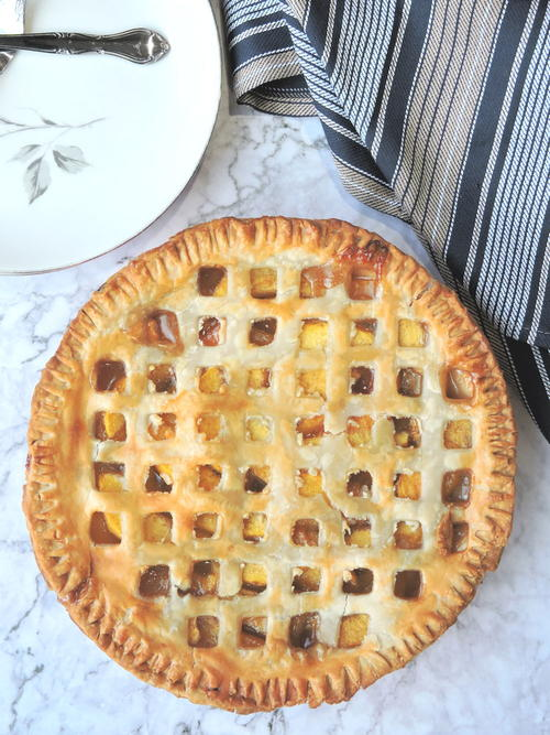 Easy Southern Fresh Peach Pie Recipe