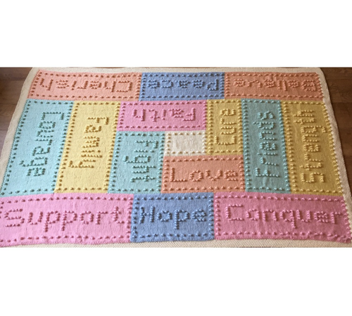 Cancer Support Chemo Blanket