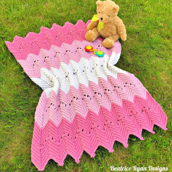 Princess in Pink Baby Blanket