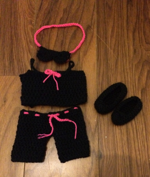 "18"" Doll Sleepwear Set"