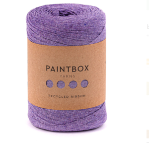 Lilac Recycled Ribbon Yarn Giveaway