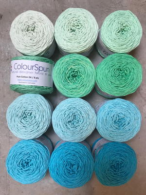 Cotton Ombre Yarn Stacks Giveaway