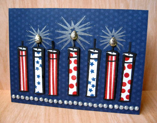 Fabulous Fire Cracker Card