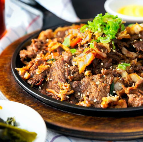 Garlic And Pepper Pork Stir-fry