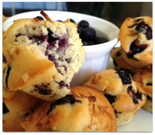 Low-fat Blueberry Muffin With Toasted Coconut Recipe