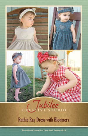 Rag Dress Pattern and Fabric Giveaway