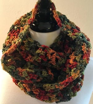 Fall Colors Infinity Cowl