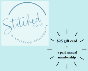 Yarn Gift Card and Membership Giveaway