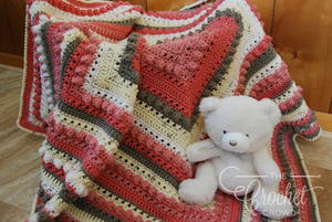 Lovely Crochet Baby Girl Blanket Pattern