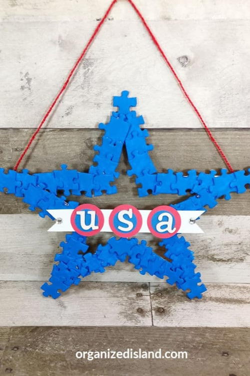 4th Of July Americana Wreath