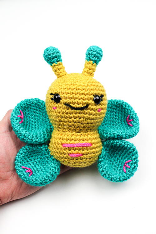 Bubbly Butterfly Crochet Pattern