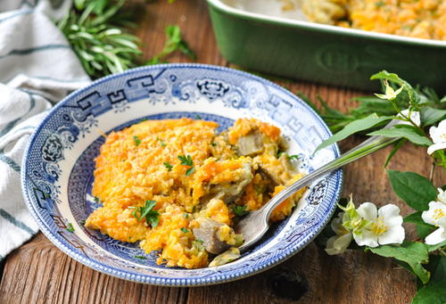 Southern Eggplant Casserole