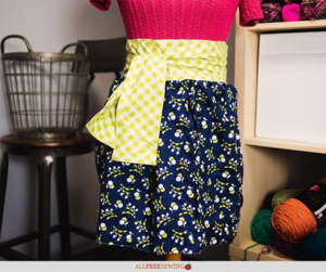 Adorable Half Apron Pattern